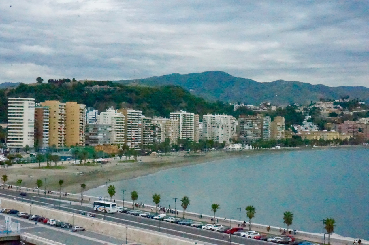 Málaga and the Beach