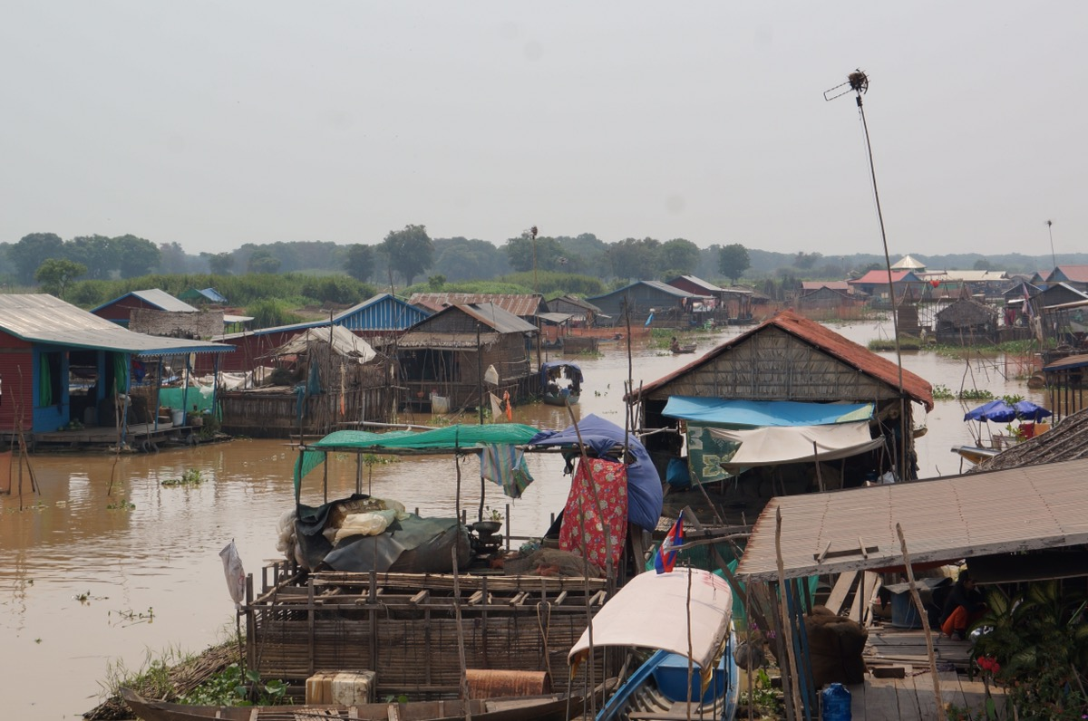 Living in the Floating Village