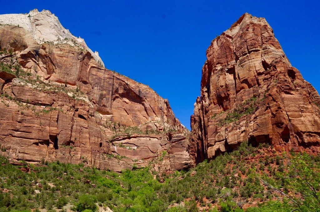 Beautiful Red Sandstone of Zion National Park, Utah