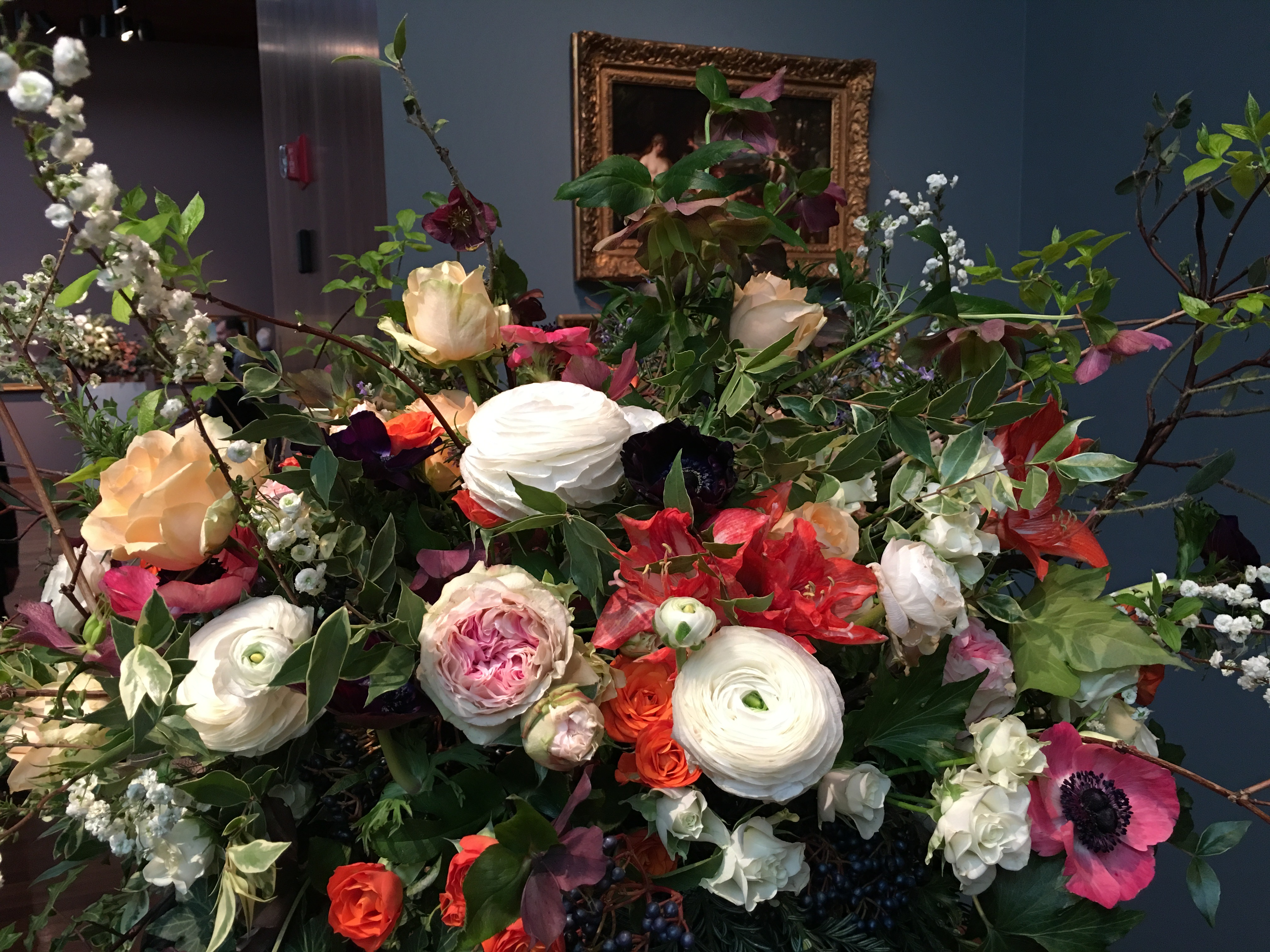 It's Spring!  Bouquets to Art at the DeYoung Museum