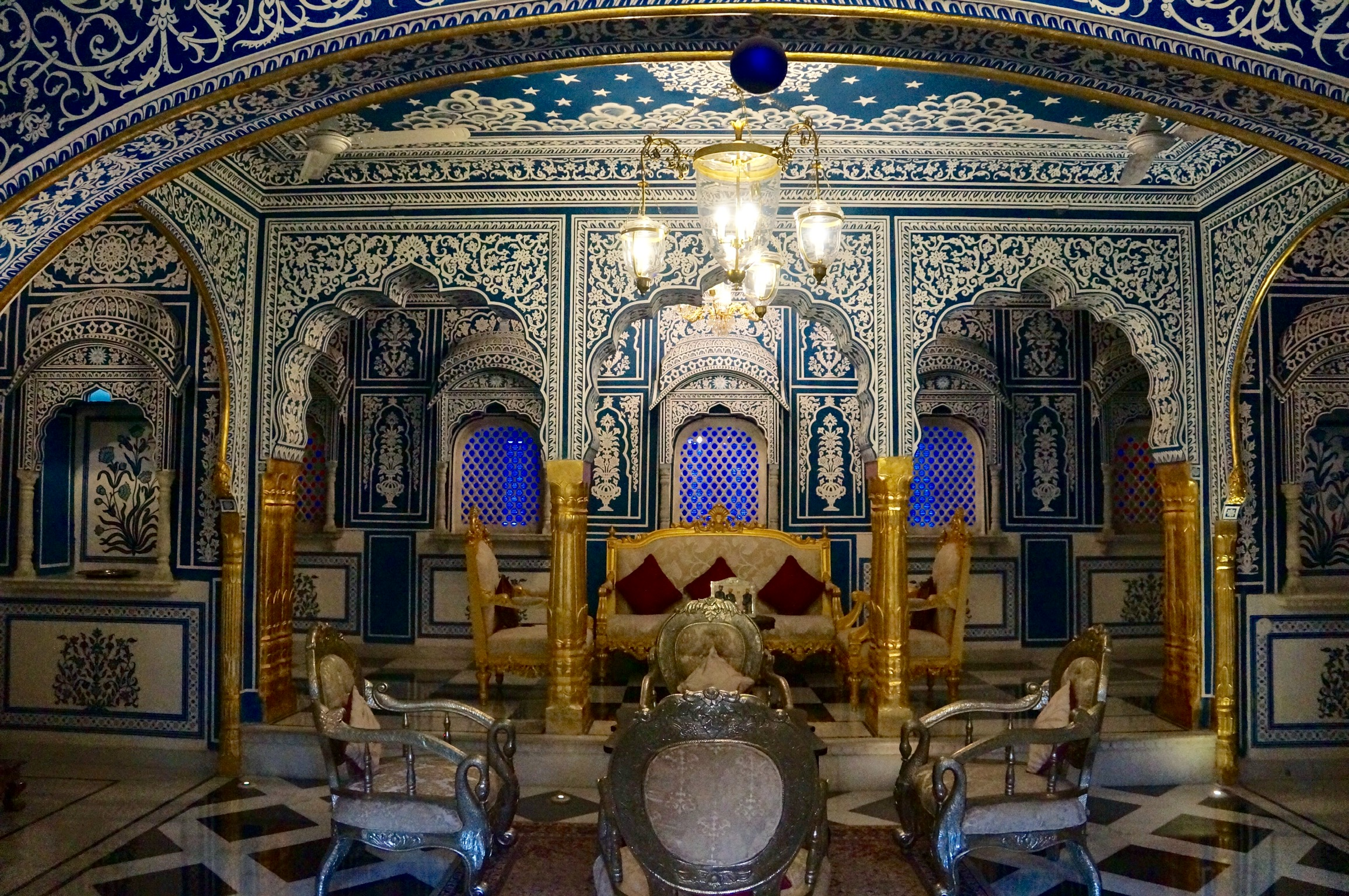 Shahpura Palace…the Magic of Blue