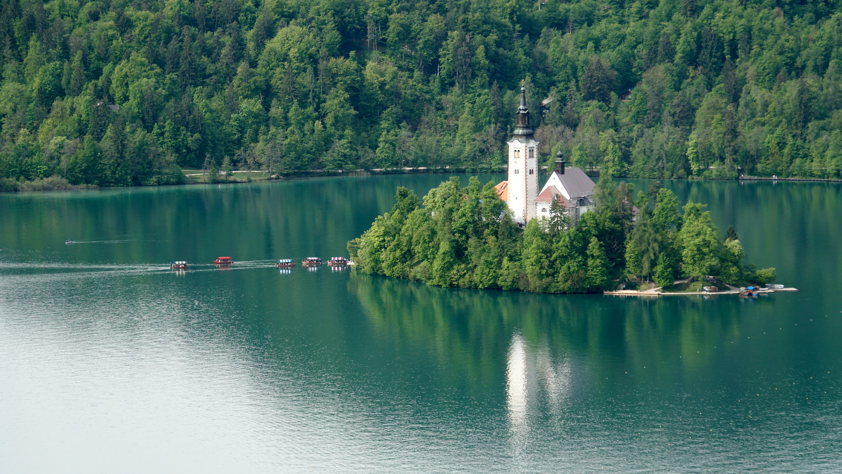 The Romance of Lake Bled, Slovenia