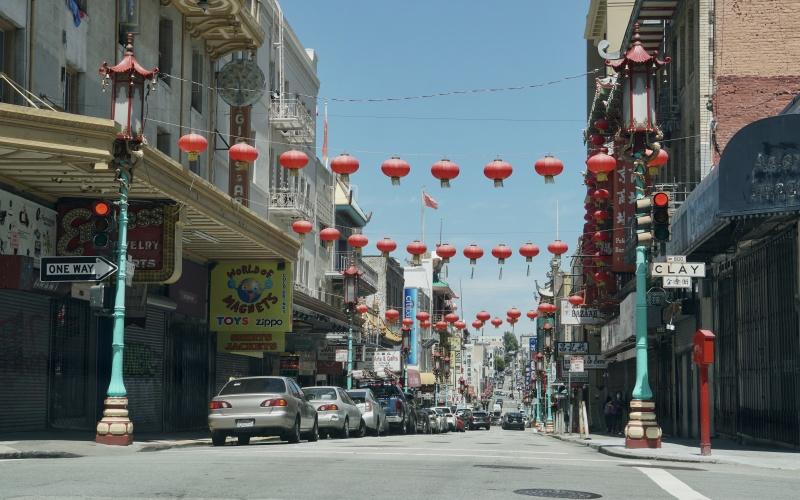 San Francisco during SIP